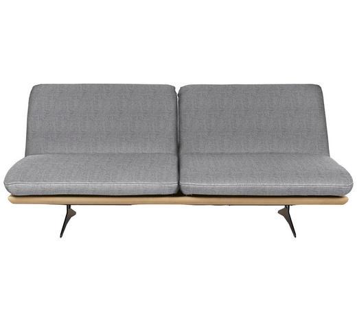 SCHLAFSOFA in Holz, Textil Hellgrau  - Beige/Hellgrau, Design, Holz/Textil (204/92/90cm) - Dieter Knoll