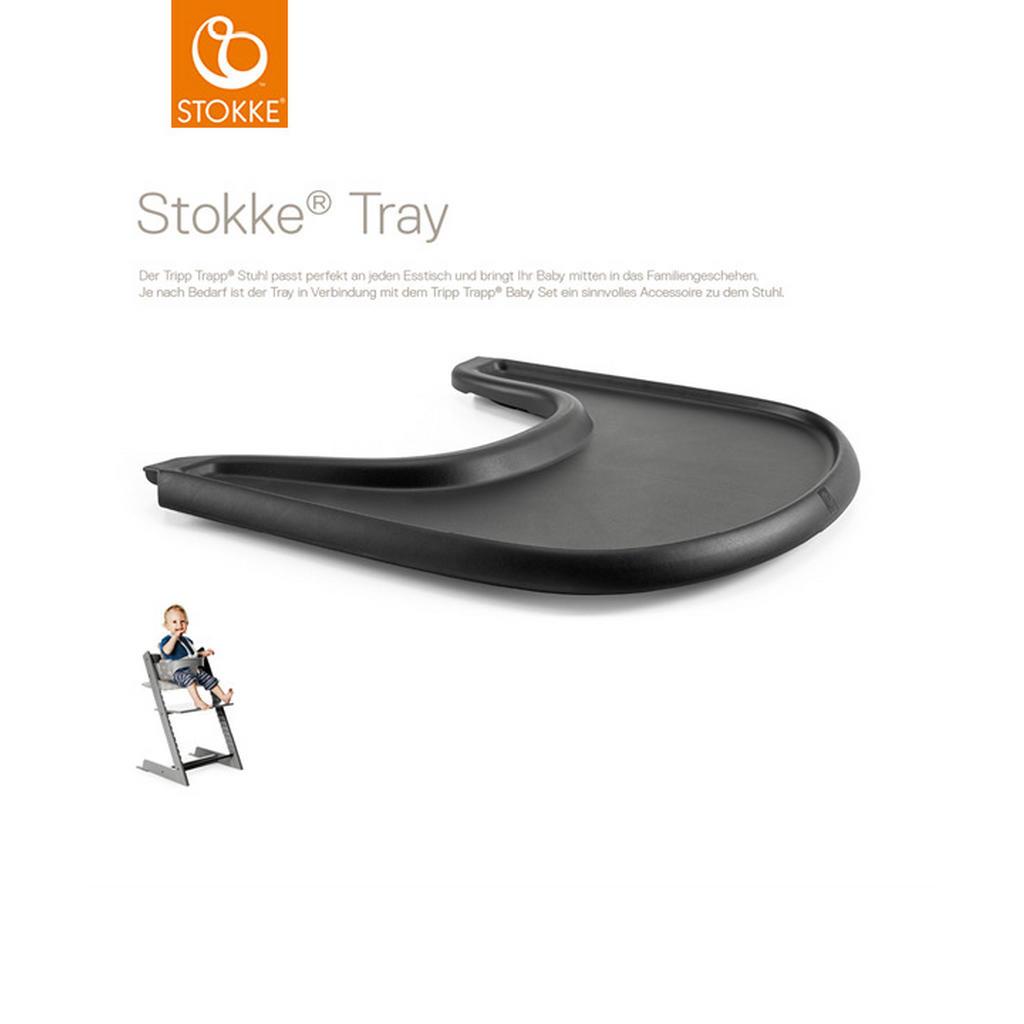 Stokke ESS- UND Spielbrett Black Tripp Trapp Tray