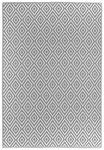 LÄUFER  90/150 cm  Grau, Weiß - Weiß/Grau, Trend, Textil (90/150cm) - Boxxx