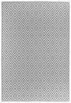 OUTDOORTEPPICH  In-/ Outdoor 90/150 cm  Grau, Weiß   - Weiß/Grau, Trend, Textil (90/150cm) - Boxxx