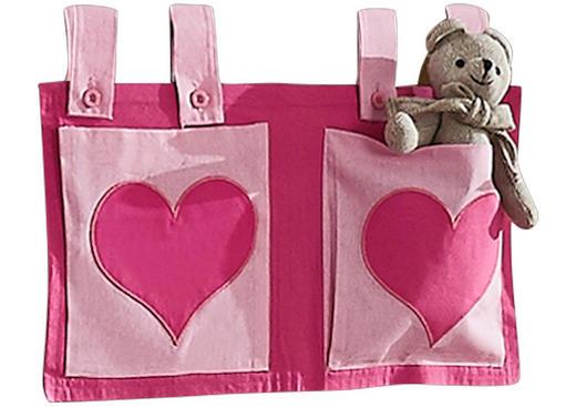 BETTTASCHE - Pink/Rosa, Design, Textil