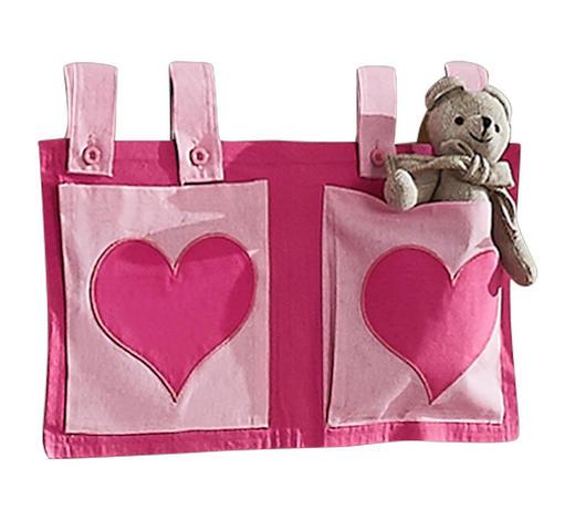BETTTASCHE - Pink/Rosa, Design, Textil (50/28/2cm)