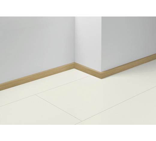SOCKELLEISTE Eichefarben, Hellbraun - Hellbraun/Eichefarben, Basics, Holzwerkstoff (257/4/1,6cm) - Parador