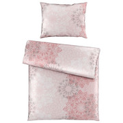 Posteljnina ROSETTE - roza, Konvencionalno, tekstil (135/200cm) - Novel