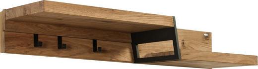 Garderobenpaneel Eiche Mehrschichtige Massivholzplatte
