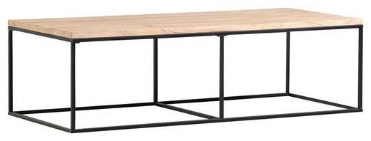COUCHTISCH Akazie massiv rechteckig - Trend, Holz/Metall (140/60/40cm) - Carryhome