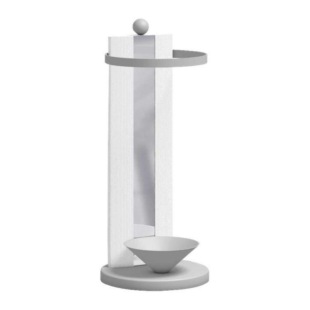 Moderano Schirmständer glas weiß