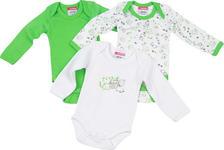 BABYBODY-SET 3-teilig - Grün, Basics, Textil (50/56) - MY BABY LOU