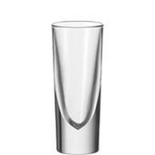 SCHNAPSGLAS - Transparent, KONVENTIONELL, Glas (6/14.3/6cm) - LEONARDO