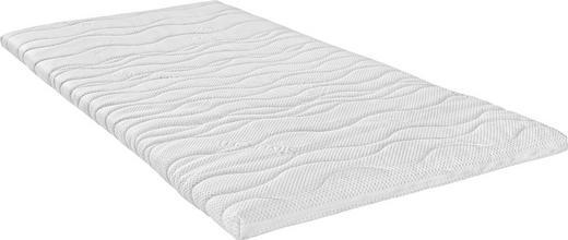 Viscoschaumkern Topper 140/200 cm - Weiß, Basics, Textil (140/200cm) - Sleeptex