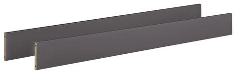 UMBAUSEITEN CORINN  - Grau, Trend, Holzwerkstoff (139,0/18,4/2,2cm) - My Baby Lou