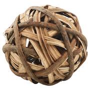 DEKOKUGEL - Braun, Basics, Weitere Naturmaterialien (15cm) - Ambia Home