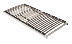 LATTENROST 90/200 cm   Birke Echtholz  - Anthrazit/Hellgrau, Basics, Holz (90/200cm) - Sleeptex