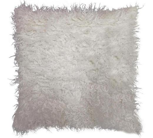 FELLKISSEN  - Creme, Trend, Textil (45/45cm) - Ambia Home