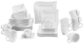 KOMPLETT SERVIS - vit, Basics, keramik - Ritzenhoff Breker