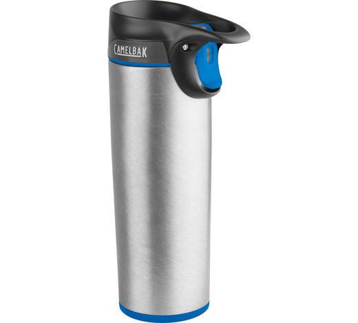 ISOLIERFLASCHE 0,5 L - Grau, Design, Metall (,5l)