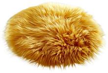 SITZKISSEN Gelb 32 cm  - Gelb, Trend, Textil (32cm) - Novel