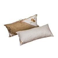 VZGLAVNIK ZA VRAT - bela, Konvencionalno, tekstil (40/80cm)