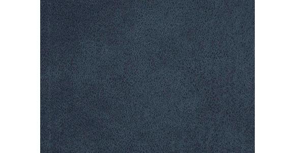 WOHNLANDSCHAFT in Textil Dunkelblau - Chromfarben/Dunkelblau, Design, Holz/Textil (195/296cm) - Hom`in