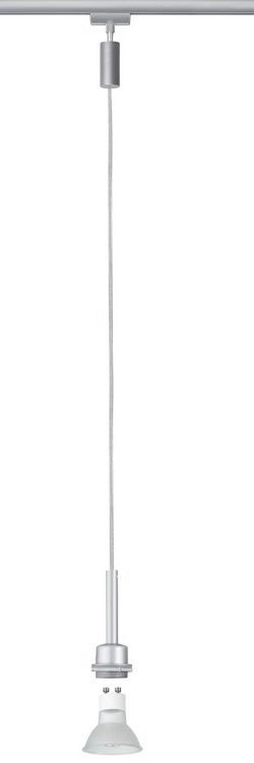 URAIL SCHIENENS.-HÄNGELEUCHTE - Chromfarben, Design, Metall (135cm) - Paulmann