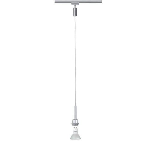 URAIL SCHIENENS.-HÄNGELEUCHTE   - Chromfarben, Design, Metall (135cm)