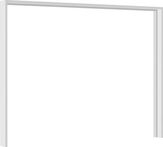 PASSEPARTOUTRAHMEN 231/215/24 cm Weiß - Weiß, Design (231/215/24cm) - Ti`me
