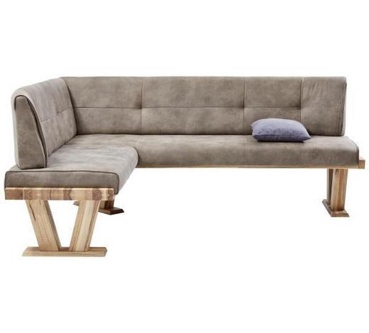 ECKBANK in Holz, Textil Eichefarben, Grau online kaufen ➤ XXXLutz
