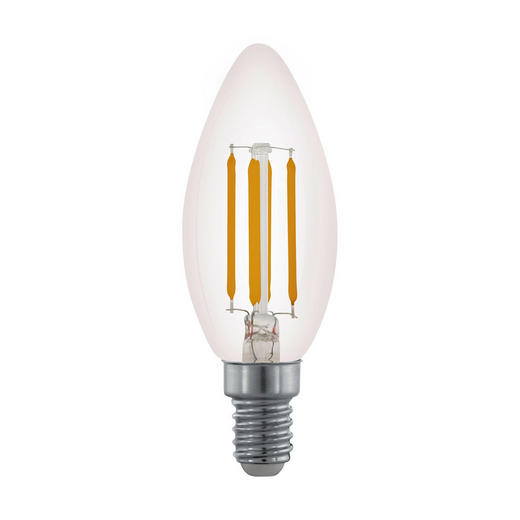 LED-LEUCHTMITTEL  E14 3,5 W - Klar, Basics, Glas (10cm) - Homeware