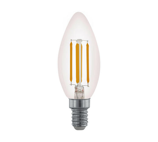 LED-LEUCHTMITTEL - Klar, Basics, Glas (9,8cm) - Homeware