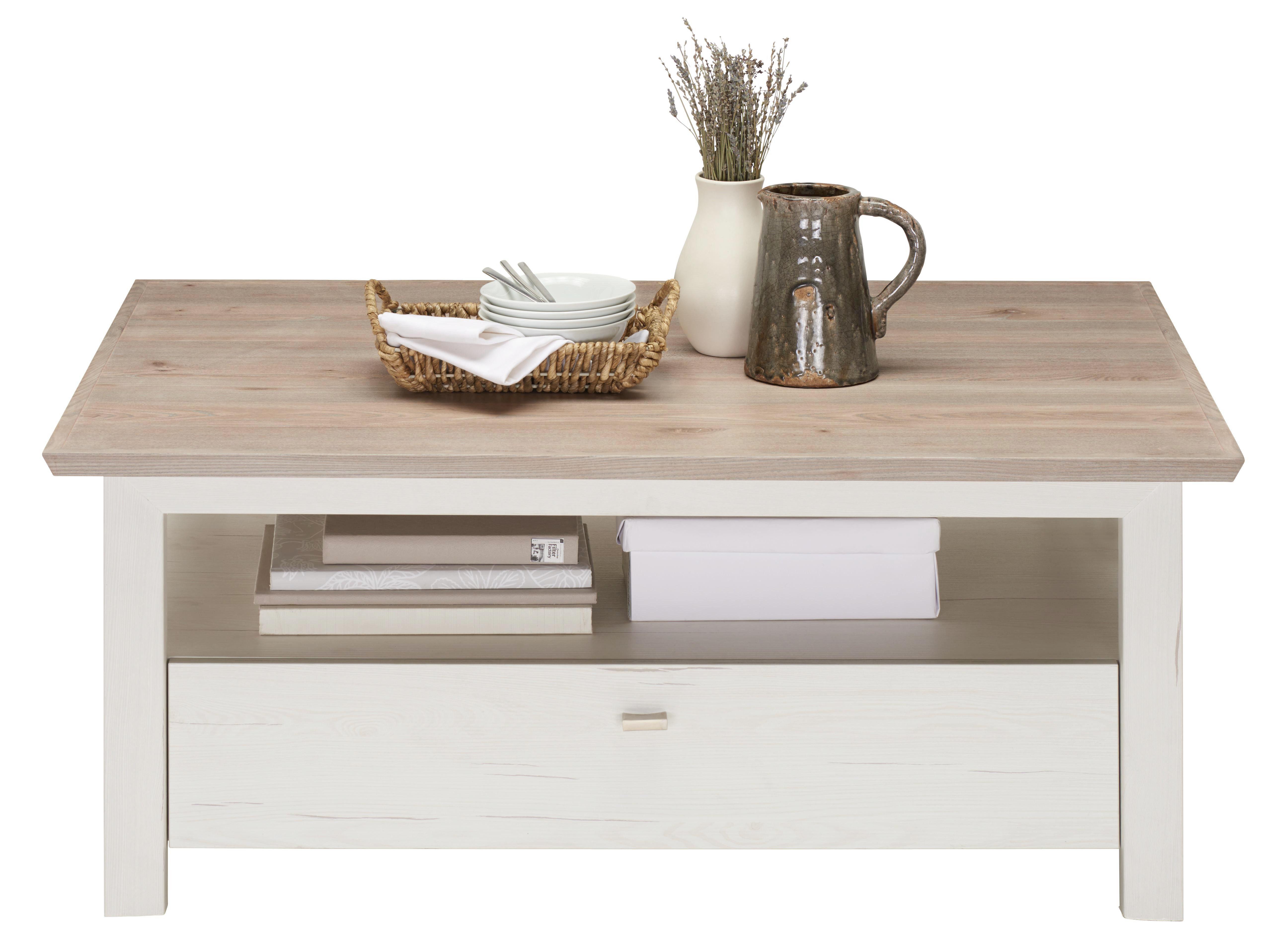 SOFFBORD - vit/grå, Lifestyle, träbaserade material (110/80/45cm) - Hom`in
