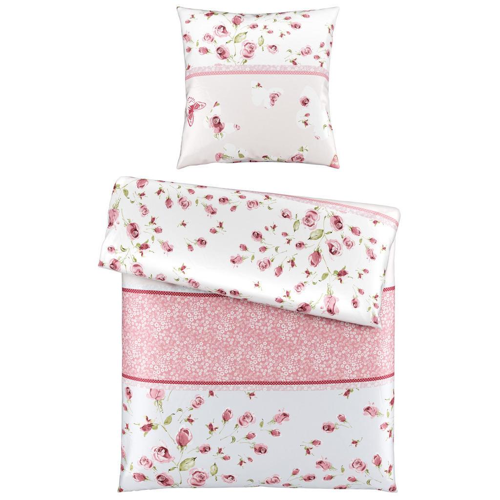 Landscape Bettwäsche satin rosa