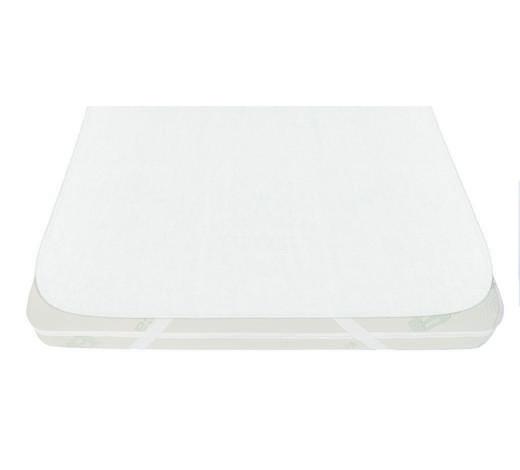 MATRATZENSCHONER - Weiß, Basics, Textil (90/200cm) - My Baby Lou