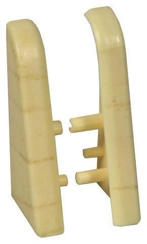 ÄNDSTYCKE TILL SOCKELLIST - lönnfärgad, Basics, plast (-/2,01/3,96cm)