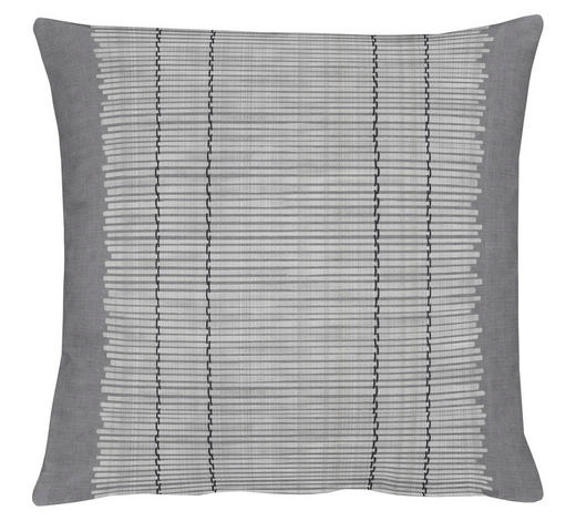 KISSENHÜLLE Grau 49/49 cm  - Grau, Basics, Textil (49/49cm)