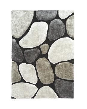 RYAMATTA 130/190 cm - grå, Trend, textil (130/190cm) - Novel