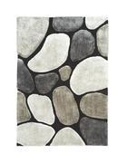 KOSMATINEC STONE - siva, Design, tekstil (130/190cm) - Novel