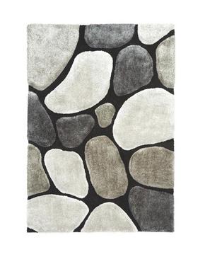 RYAMATTA - grå, Trend, textil (130/190cm) - Novel