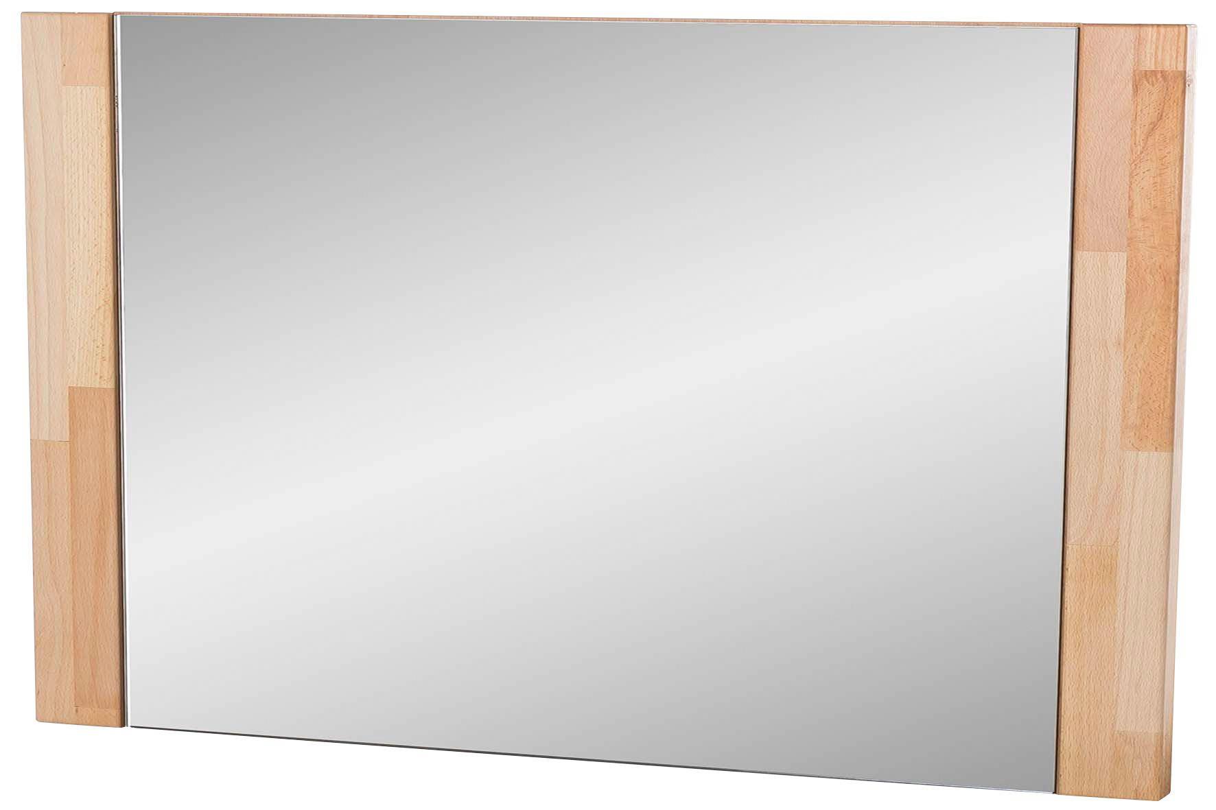 SPIEGEL - Buchefarben, KONVENTIONELL, Glas/Holz (66/65/4cm) - LANDSCAPE