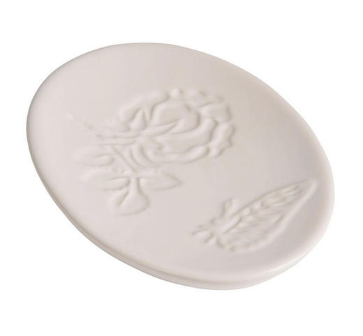 SEIFENSCHALE - Weiß, Basics, Keramik (10,2/2,5/14,7cm)