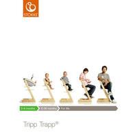 Tripp Trapp Hochstuhl Buche Hartholz, massiv White - Weiß, Basics, Holz (46/79/49cm) - STOKKE