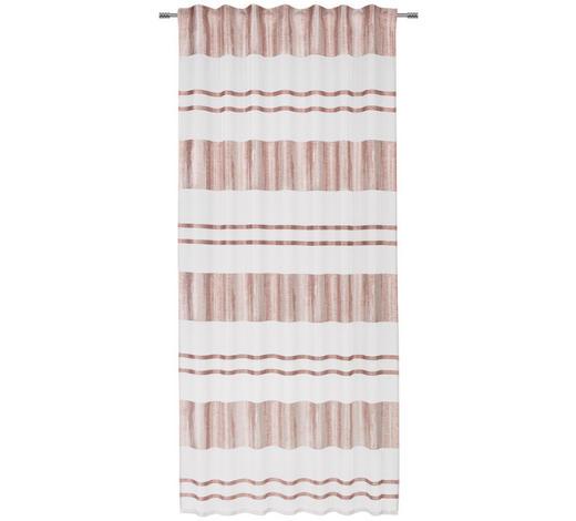 FERTIGVORHANG  transparent  140/245 cm   - Rosa, MODERN, Textil (140/245cm) - Esposa