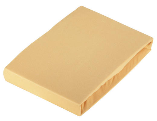 SPANNLEINTUCH - Currygelb, Basics, Textil (100/200cm) - Novel