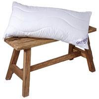 NACKENSTÜTZKISSEN  40/80 cm       - Weiß, Textil (40/80cm) - Sleeptex