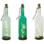 LED-DEKOLEUCHTE - Grün, Trend, Glas (8/30cm)