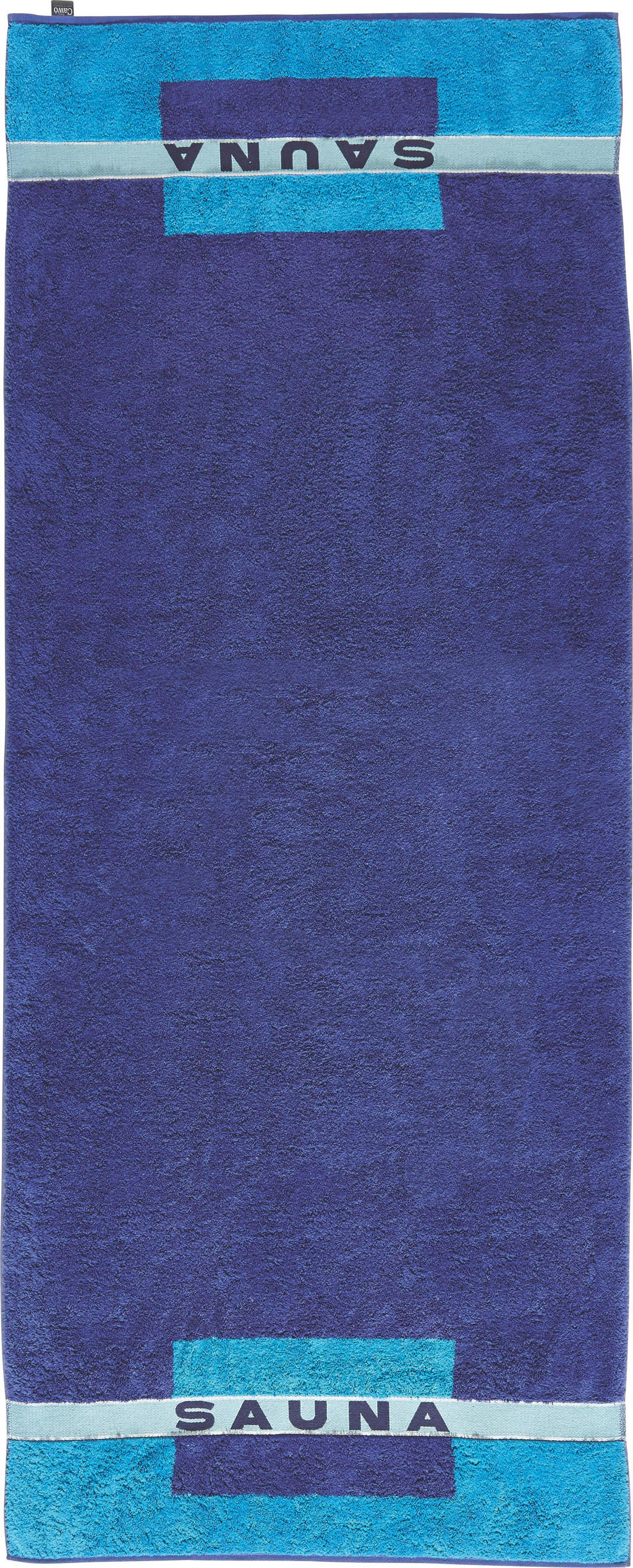 CAWOE SAUNATUCH 80/200 cm, Blau
