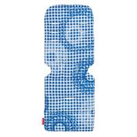 PODLOGA ZA VOZIČEK PLAID - svetlo modra, tekstil (33/80cm) - Maclaren