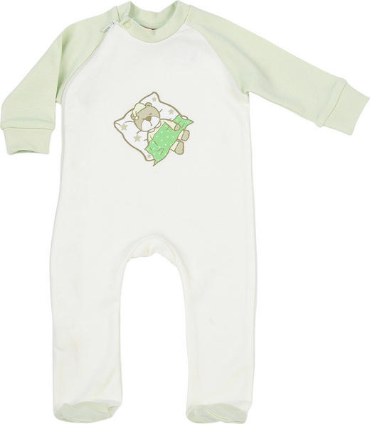 SCHLAFANZUG - Grün, Basics, Textil (80) - My Baby Lou