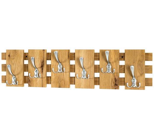 STENSKI OBEŠALNIK - hrast, Design, leseni material (81/20/11cm) - Xora