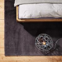 HOCHFLORTEPPICH  70/130 cm   Anthrazit   - Anthrazit, Design, Textil (70/130cm) - Novel