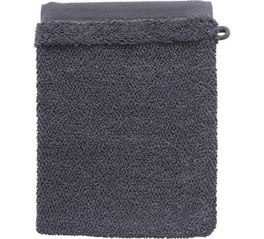 WASCHHANDSCHUH - Anthrazit, Natur, Textil (16/21cm) - Bio:Vio